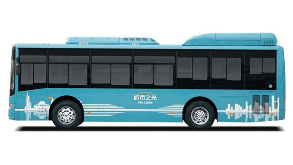 8m Electric Bus, XMQ6850G EV